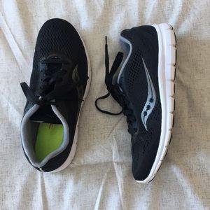 Saucony Running Shoe—Black